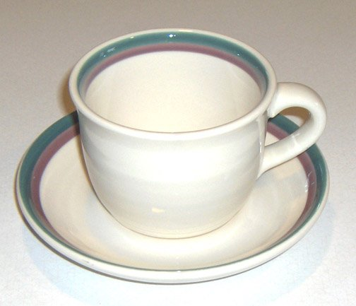 Pfaltzgraff Juniper Cup and Saucer