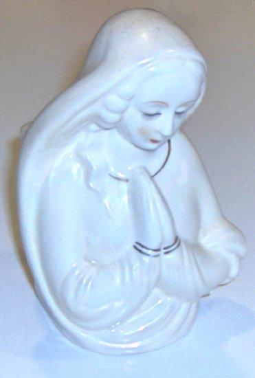 Vintage Madonna Head Vase / Planter MIJ