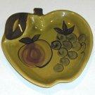 Vintage 1964 Los Angeles Potteries Apple Plate