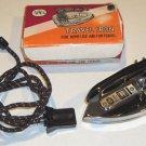 Vintage APEX Travel Iron No. 9162 in original box