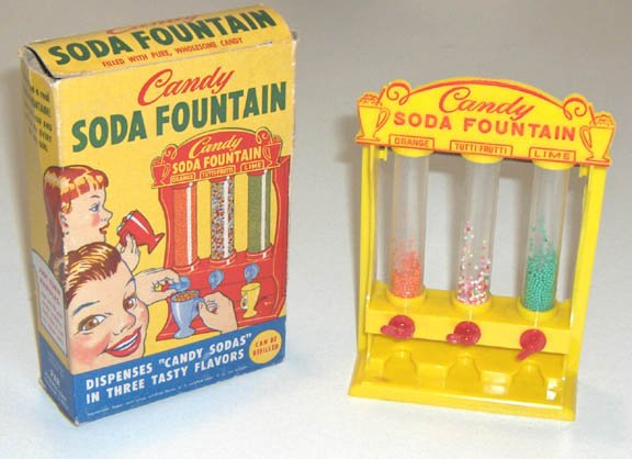 Vintage CANDY SODA FOUNTAIN 125