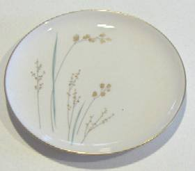 """Vintage Syracuse China Golden Seeds Bread Plate 6 1/4"""""""