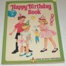 Vintage 1963 Rand McNally Playtime Elf Happy Birthday Coloring Book