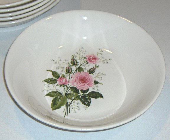 Vintage GOLDEN DAWN First Quality China Soup Bowl - Set of 2