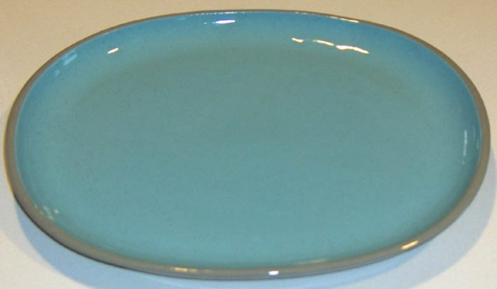 Harkerware/Harker Pottery Blue Mist Oval Platter