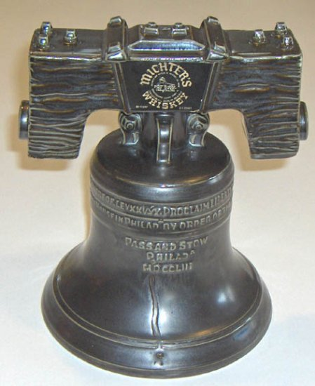 Michter's Sour Mash Whiskey Bicentennial Commemorative Liberty Bell Decanter