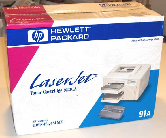 NOS HP Brand 9OEM 2291A Genuine Toner Cartridge for HP Laserjet IIISI/4SI