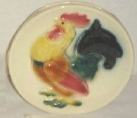 Vintage Royal Copley Rooster Wall Pocket - Single Rooster facing left