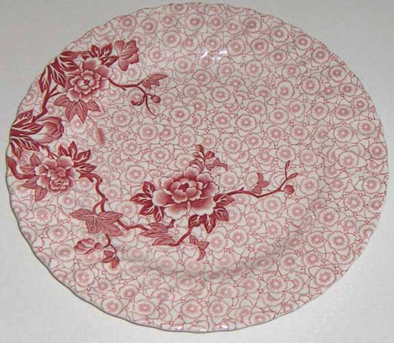 Lotus Johnson Brothers Dinner Plate Set of 2