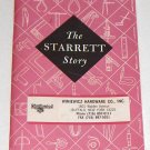 1991 Starrett Tools - The Starret Story Booklet