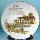1995 Avon 10th Anniversary Collector's Plate - MIB