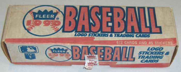 Vintage 1990 FLEER Baseball Card Boxed SET