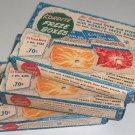 Vintage Kordite Freze Boxes in Original Box  Set of 3 circa 1950s