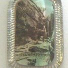 Vintage Glass Advertising Paperweight - Rock City Olean, NY