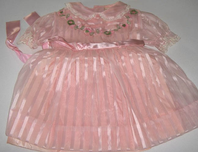 Vintage Patricia Ann Pink Party Dress Size 2 - Circa 1960 New - Never Worn