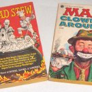 Mad Clowns Around #48 and Mad Stew 1st Edition Paperbacks