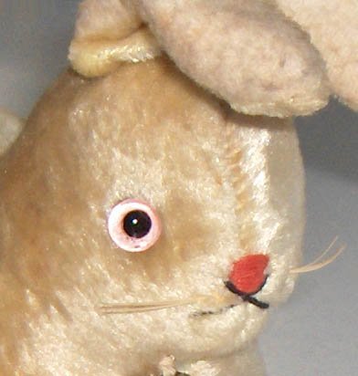 Vintage Straw Stuffed Bunny Rabbit - MIJ