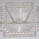 Vintage Bubble Glass Relish Tray