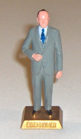 #34 Eisenhower of Marx Toys Presidents Series -1960s         B17
