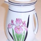 Vintage Art Deco Iris Creamer or Small Pitcher MIJ         B17