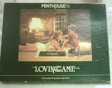 Vintage Penthouse The Loving Game Boardgame - 1987