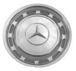 Mercedes Stainless Steel Original Equipment Wheel Cover