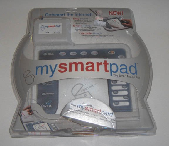 The Smart Mouse Pad by MySmart.com - 2000 NIB