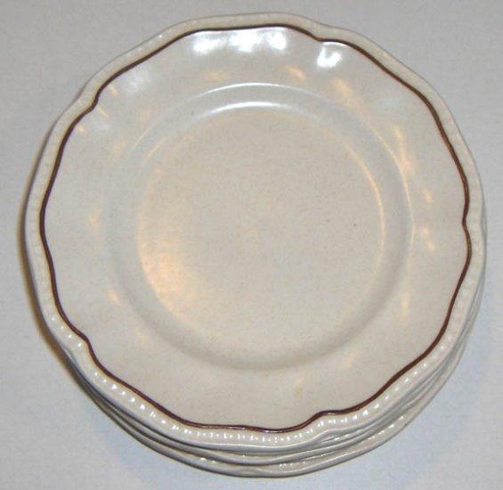 Vintage Kensington Staffordshire Ironstone Bread & Butter Plates - Set of 4