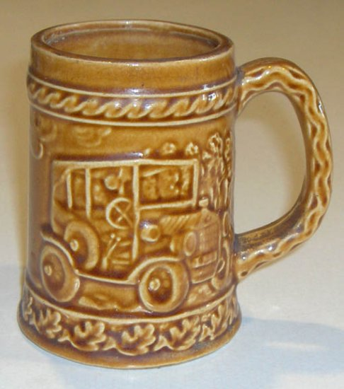 Vintage Antique Car Stein Mug MIJ