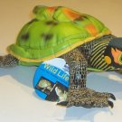 NWT Discovery Channel Wild Life Gomi The Indian Roofed Turtle Stuffed Toy