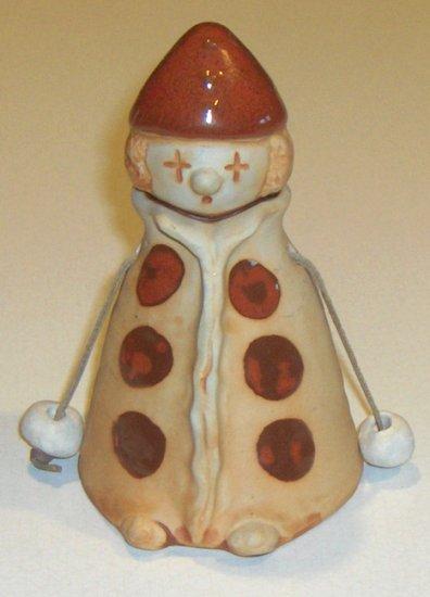 Vintage Giftcraft Toronto Ceramic Clown Bell MIJ