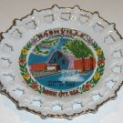 Vintage Souvenir Nashville TN Country Music Hall of Fame Plate MIJ