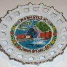 Vintage Souvenir Nashville TN Country Music Hall of Fame Plate MIJ