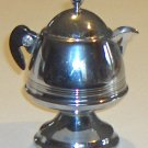 Vintage Chrome Bakelite Creamer from a United Co. Percolator Set