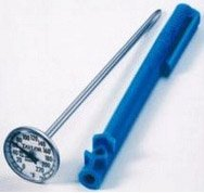 "Taylor Classic Instant Read 1"" Dial Pocket Thermometer #5989N"