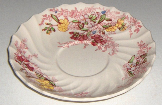 Vintage Spode Fairy Dell Saucer (no cup) - Set of 2