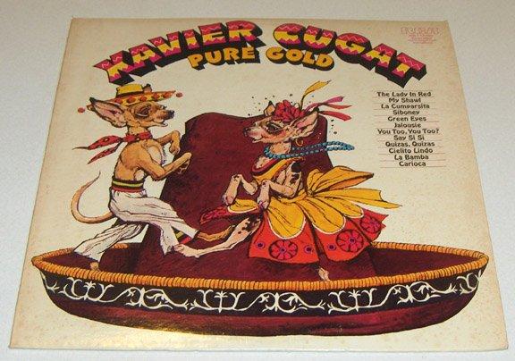 Vintage RCA Xavier Cugat Pure Gold LP
