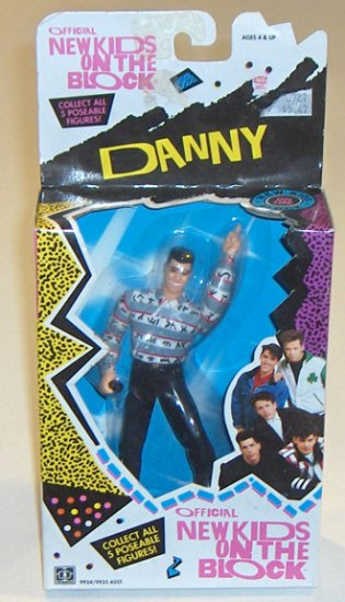 "New Kids on the Block ""Danny"" 6"" Posable Action Figure 1990"