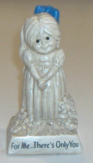 "Vintage W & R Berries Co. ""For Me... There's Only You"" Figurine 1971"
