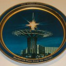 Oral Roberts University Prayer Tower Metal Souvenir Tray