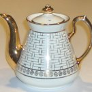 Vintage Hall Philadelphia 6-cup Gold Teapot
