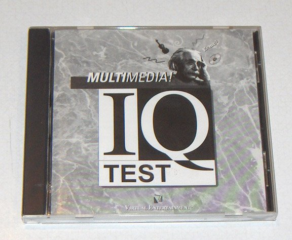 Vintage Software - 1995 Multimedia IQ Test by Virtual Entertainment
