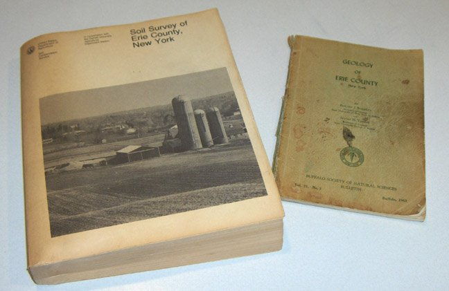 Vintage Geology of Erie County, NY & Soil Survey of Erie County, NY 1986 USDA Books sold 5.4.12