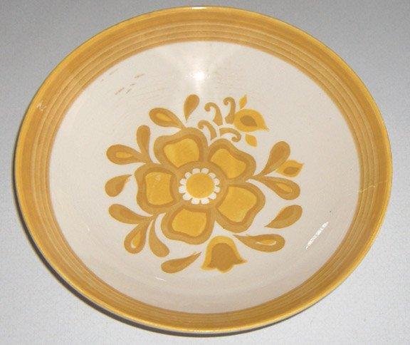 Vintage Royal China Ironstone Damsel Vegetable Bowl
