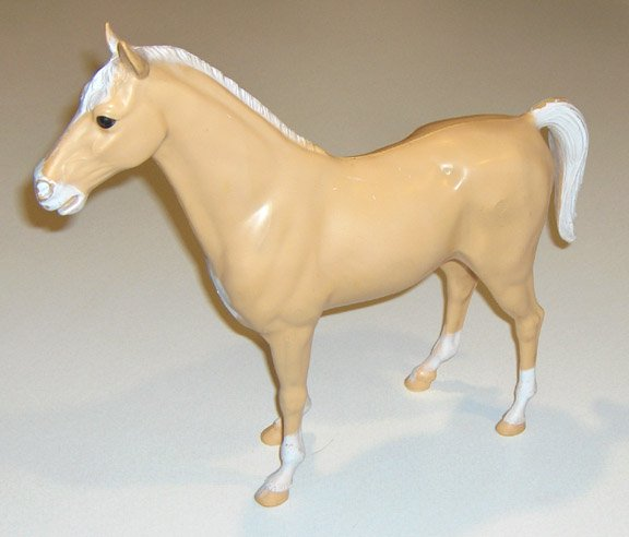 Vintage Marx Company Palomino Thunderbolt Horse for Johnny West