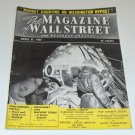 Vintage Magazine - The Magazine of Wall Street and Business Analyst April 27, 1957 Issue
