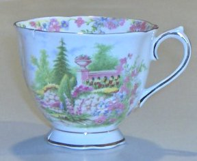 Royal Albert Bone China Kentish Rockery Tea Cup (no saucer)