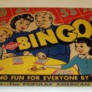 Vintage 1941 Lowes Bingo Game MIB