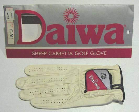 Daiwa Sheep Cabretta Leather Cadet Golf Glove - Size C-M Left Hand MIP