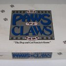 Vintage Paws 'N Claws Boardgame 1987